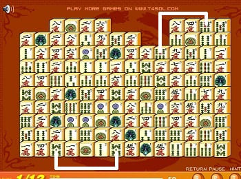Ejemplo Mahjong Connect